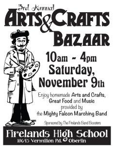 8x10 craft show poster
