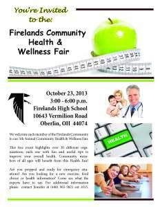 Health Fair 2013