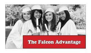 The Falcon Advantage Header