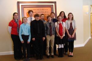 The 7th Grade Academic Challenge Team 2014