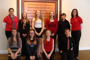 The 8th Grade Academic Challenge Team 2014