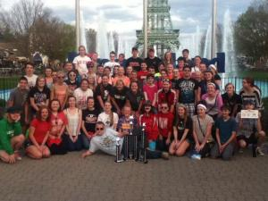 Firelands Band and Choir 2014 Kings Island Competition