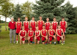 The Boys Cross Country Team 2014-2015