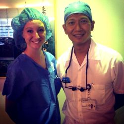 Michaela and Dr. Risal S. Djohan