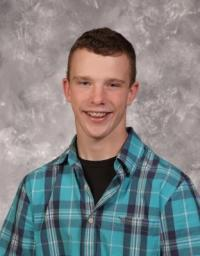 Cole Sklarek, September Student of The Month