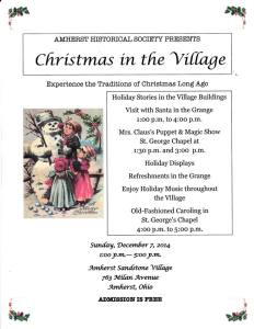 Christmas in the Village 2014