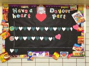 Have a heart board community service project