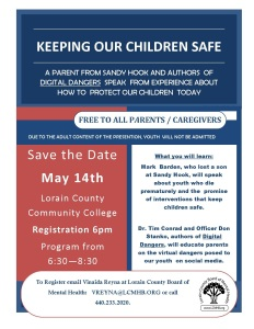 Keeping  Our Children Safe SAVE THE DATE