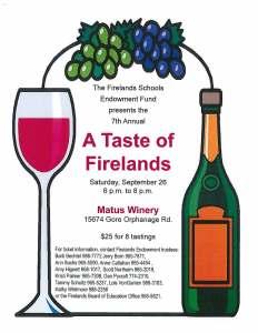 Taste of Firelands 2015