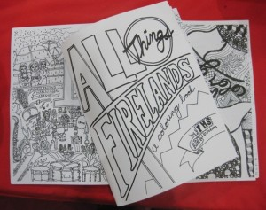 All things Firelands coloring book