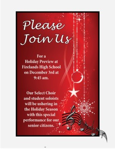Holiday Preview invite