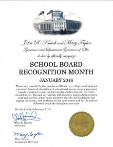 School board Rec Proc 2016