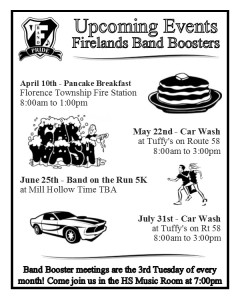 FHS Band Fundraisers 3 16