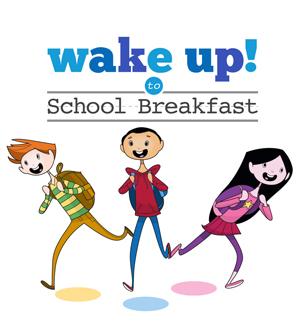 Wake up to school breakfast