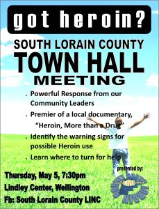 May 5 2016 Town Hall Flyer Drug