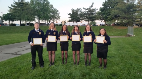 2016 State FFA Degree holders
