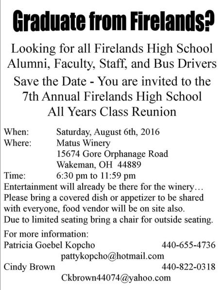 All school reunion 2016