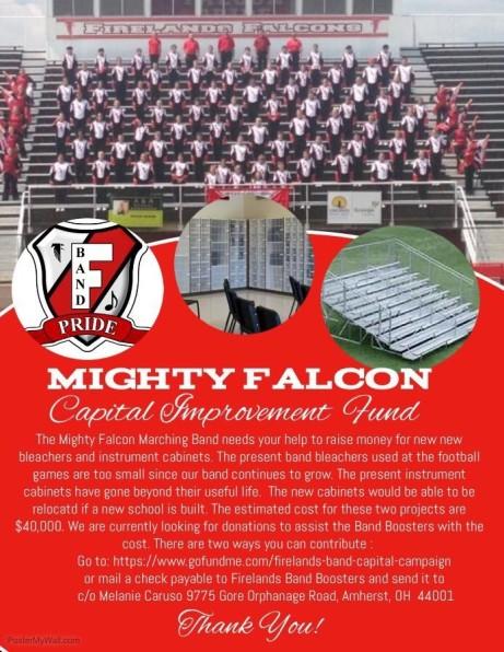 falcon band spring 3 2017