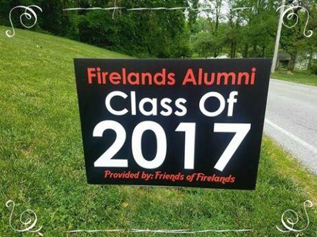Friends of Firelands 2017 sign
