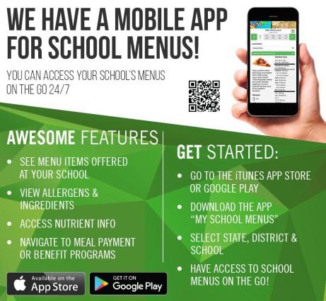 school menu app