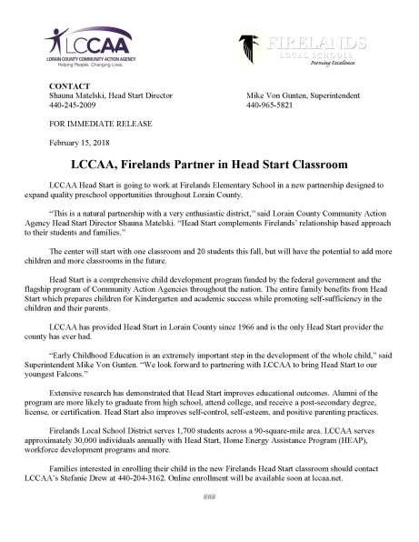 PR Firelands Partnership-Final