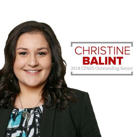 Christine Balint 2018 Outstanding