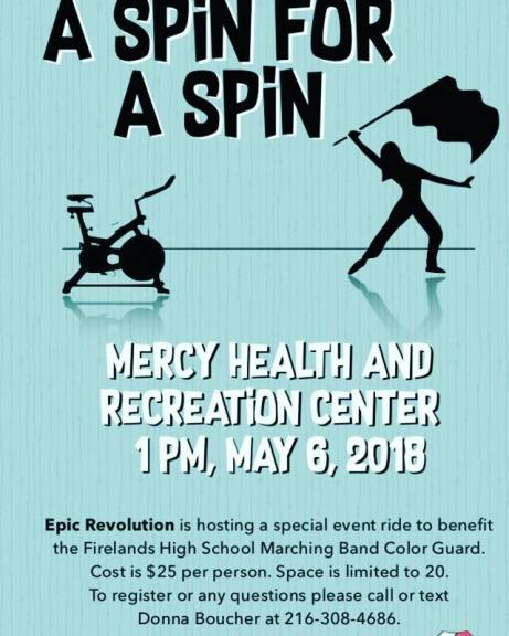 Color Guard Spin 2018