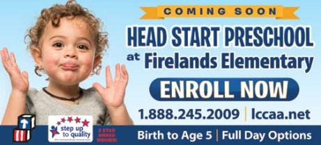 FIRELANDS ART HEAD START 2018