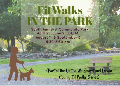 FitWalks in the Park marketing