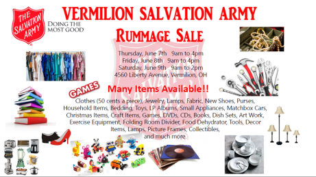 Salvation Army Rummage Sale 2018