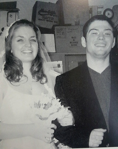 Class of 2002 mock wedding