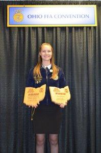 Emily Holcomb FFA winner 2018 2