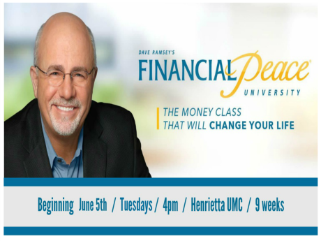 Financial Peace University Summer 2018