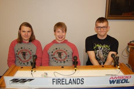 Firelands AC team QF 2018