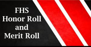 FHS Honor and Merit Roll