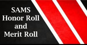 SAMS Honor and Merit Roll