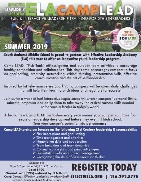 ela camp flyer 2019