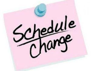 schedule change 2