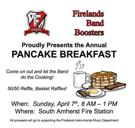 Band pancake breakfast 2019