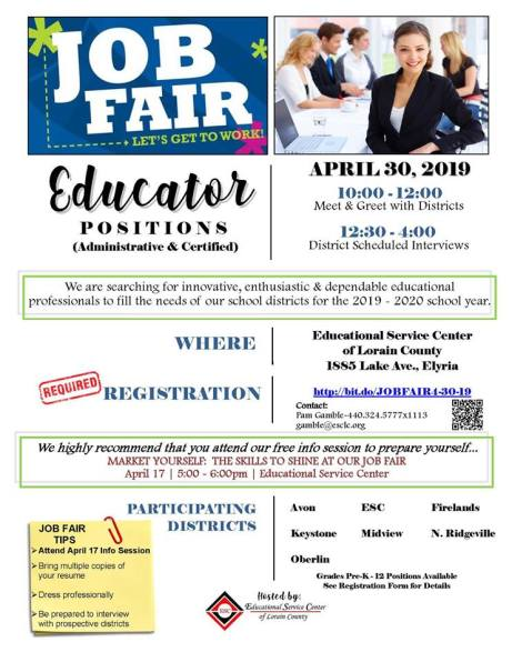 ESC Job Fair April 2019