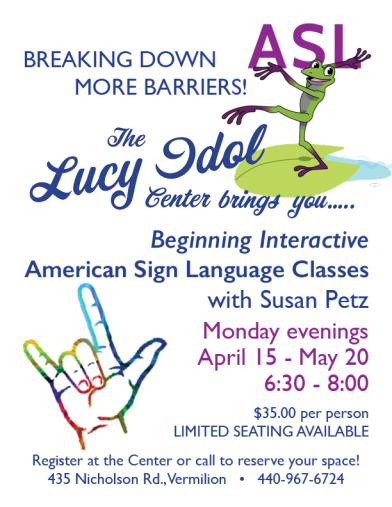 Lucy Idol Sign Language 2019