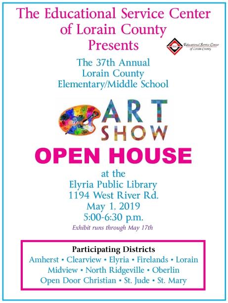 2019 ELP Open House flyer