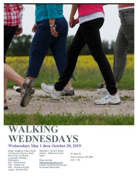 SACP Walking Wednesdays