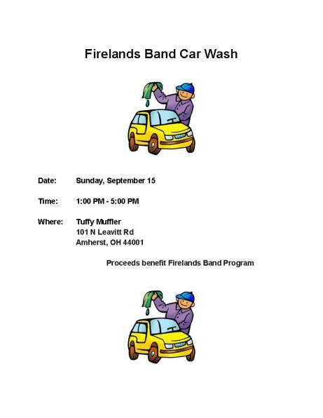 Car Wash Flyer 9 15 19