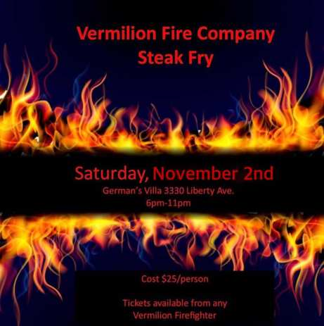 Vermilion Fire Steak Fry 2019