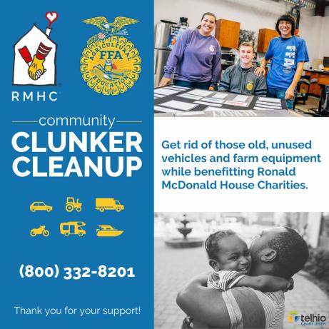 FFA Cluncker clean up