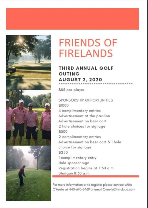 FOF Golf Outting 2020