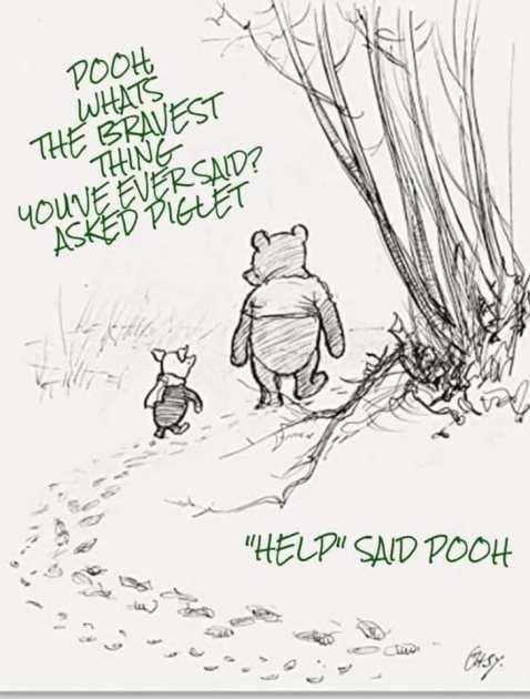 Help said pooh