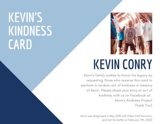 Kevins card