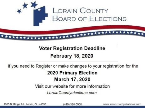 Voter Registration 2020